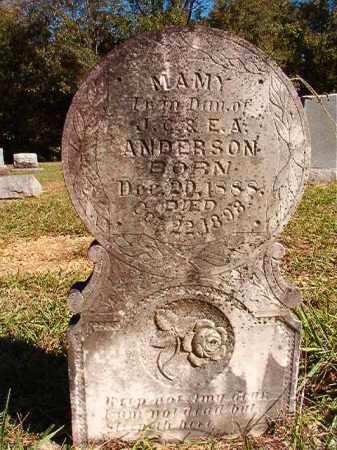 ANDERSON, MAMY - Dallas County, Arkansas   MAMY ANDERSON - Arkansas Gravestone Photos