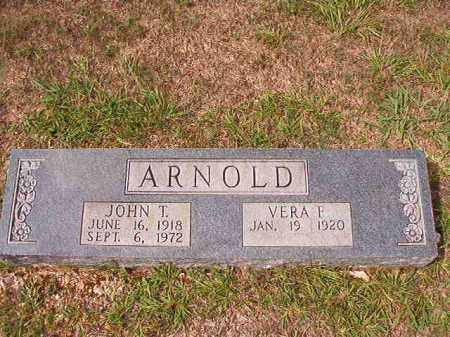 ARNOLD, JOHN T - Dallas County, Arkansas | JOHN T ARNOLD - Arkansas Gravestone Photos