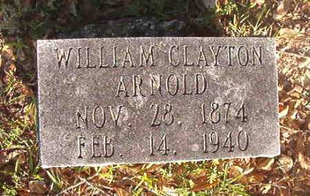 ARNOLD, WILLIAM CLAYTON - Dallas County, Arkansas | WILLIAM CLAYTON ARNOLD - Arkansas Gravestone Photos