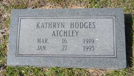 ATCHLEY, KATHRYN - Dallas County, Arkansas | KATHRYN ATCHLEY - Arkansas Gravestone Photos