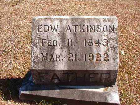 ATKINSON, EDWARD - Dallas County, Arkansas | EDWARD ATKINSON - Arkansas Gravestone Photos