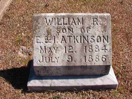 ATKINSON, WILLIAM R - Dallas County, Arkansas | WILLIAM R ATKINSON - Arkansas Gravestone Photos