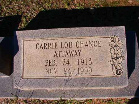 ATTAWAY, CARRIE LOU - Dallas County, Arkansas | CARRIE LOU ATTAWAY - Arkansas Gravestone Photos