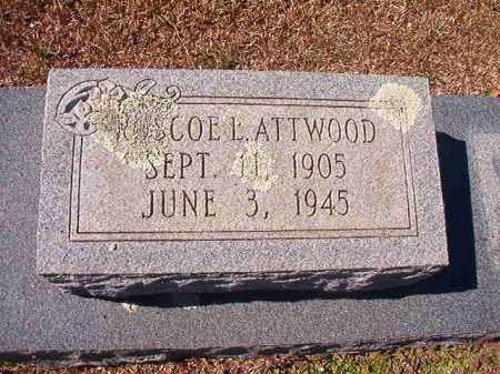 ATTWOOD, ROSCOE L - Dallas County, Arkansas | ROSCOE L ATTWOOD - Arkansas Gravestone Photos