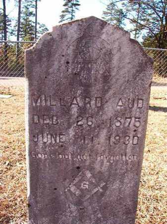 AUD, MILLARD - Dallas County, Arkansas | MILLARD AUD - Arkansas Gravestone Photos