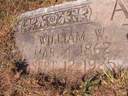 AUSTIN, WILLIAM W - Dallas County, Arkansas | WILLIAM W AUSTIN - Arkansas Gravestone Photos