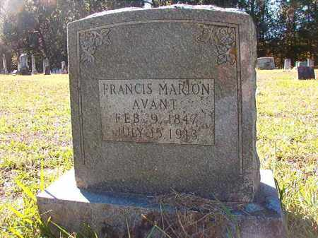 AVANT, FRANCIS MARION - Dallas County, Arkansas | FRANCIS MARION AVANT - Arkansas Gravestone Photos