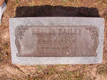 BAILEY, KELLIS - Dallas County, Arkansas | KELLIS BAILEY - Arkansas Gravestone Photos