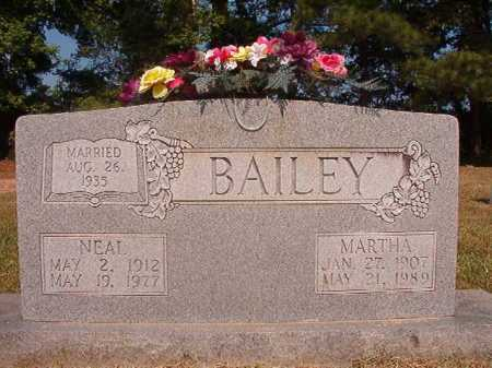 BAILEY, NEAL - Dallas County, Arkansas | NEAL BAILEY - Arkansas Gravestone Photos