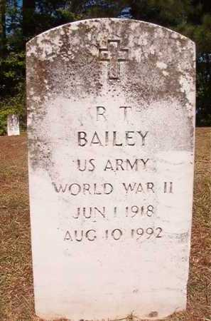 BAILEY (VETERAN WWII), R T - Dallas County, Arkansas | R T BAILEY (VETERAN WWII) - Arkansas Gravestone Photos