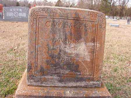 BAKER, C W - Dallas County, Arkansas | C W BAKER - Arkansas Gravestone Photos