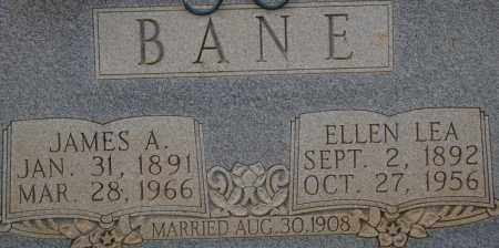 BANE, ELLEN LEA - Dallas County, Arkansas | ELLEN LEA BANE - Arkansas Gravestone Photos