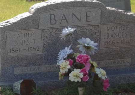 BANE, FRANCES E. - Dallas County, Arkansas | FRANCES E. BANE - Arkansas Gravestone Photos