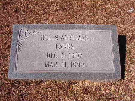 BANKS, HELEN - Dallas County, Arkansas | HELEN BANKS - Arkansas Gravestone Photos