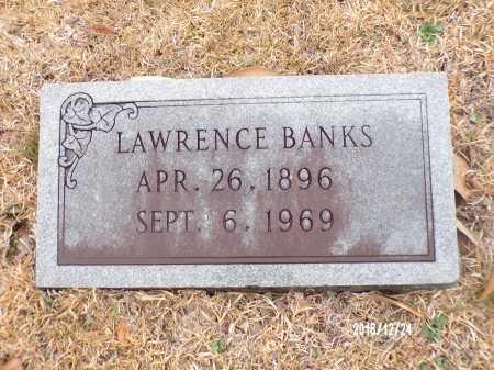 BANKS, LAWRENCE - Dallas County, Arkansas | LAWRENCE BANKS - Arkansas Gravestone Photos