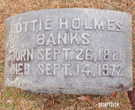 BANKS, LOTTIE - Dallas County, Arkansas | LOTTIE BANKS - Arkansas Gravestone Photos