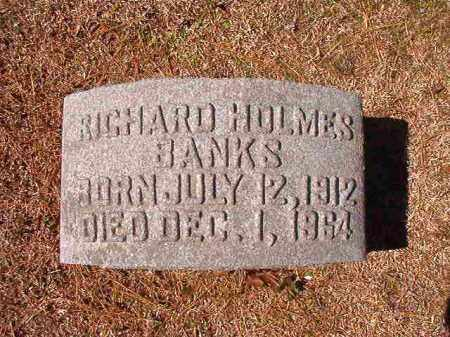 BANKS, RICHARD HOLMES - Dallas County, Arkansas | RICHARD HOLMES BANKS - Arkansas Gravestone Photos