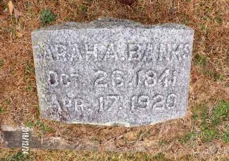 BANKS, SARAH A - Dallas County, Arkansas | SARAH A BANKS - Arkansas Gravestone Photos