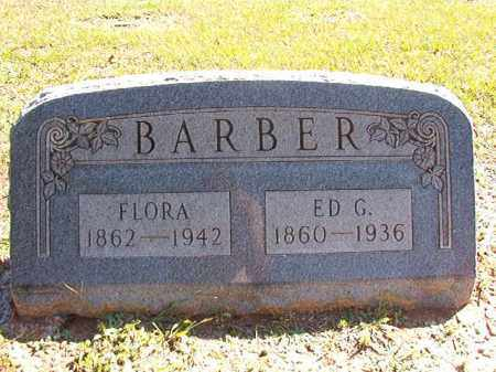 BARBER, FLORA - Dallas County, Arkansas | FLORA BARBER - Arkansas Gravestone Photos