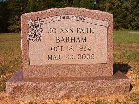 BARHAM, JO ANN - Dallas County, Arkansas | JO ANN BARHAM - Arkansas Gravestone Photos