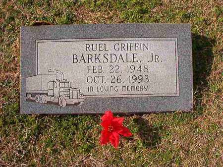 BARKSDALE, JR, RUEL GRIFFIN - Dallas County, Arkansas | RUEL GRIFFIN BARKSDALE, JR - Arkansas Gravestone Photos