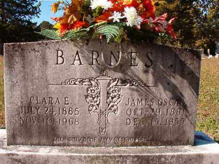 BARNES, JAMES OSCAR - Dallas County, Arkansas | JAMES OSCAR BARNES - Arkansas Gravestone Photos