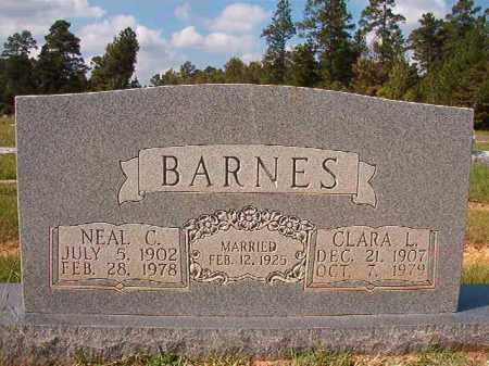BARNES, NEAL C - Dallas County, Arkansas | NEAL C BARNES - Arkansas Gravestone Photos