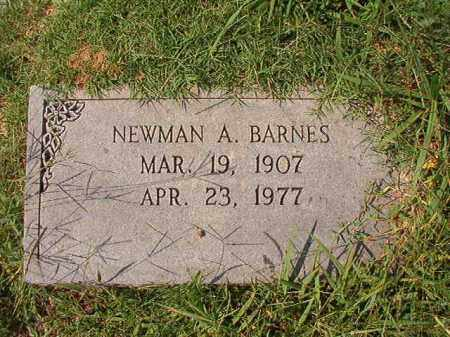 BARNES, NEWMAN A - Dallas County, Arkansas | NEWMAN A BARNES - Arkansas Gravestone Photos