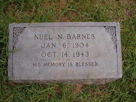 BARNES, NUEL N - Dallas County, Arkansas   NUEL N BARNES - Arkansas Gravestone Photos
