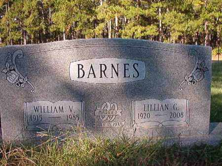 BARNES, LILLIAN G - Dallas County, Arkansas | LILLIAN G BARNES - Arkansas Gravestone Photos