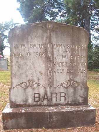BARR, J W - Dallas County, Arkansas | J W BARR - Arkansas Gravestone Photos