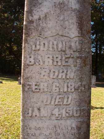 BARRETT, JOHN W (BIO) - Dallas County, Arkansas | JOHN W (BIO) BARRETT - Arkansas Gravestone Photos