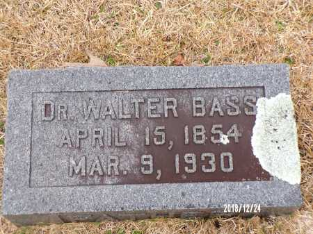 BASS, WALTER, DR - Dallas County, Arkansas | WALTER, DR BASS - Arkansas Gravestone Photos