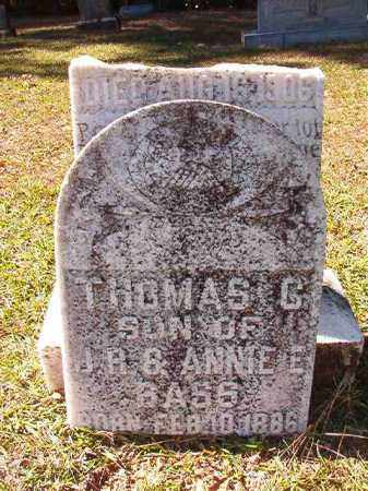 BASS, THOMAS C - Dallas County, Arkansas | THOMAS C BASS - Arkansas Gravestone Photos