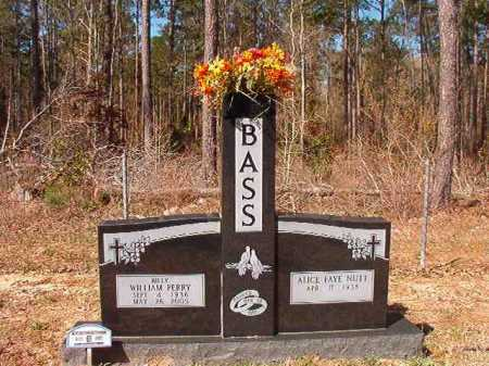 BASS, WILLIAM PERRY - Dallas County, Arkansas | WILLIAM PERRY BASS - Arkansas Gravestone Photos