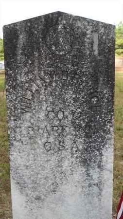 BAUGH (VETERAN CSA), WILLIAM B - Dallas County, Arkansas   WILLIAM B BAUGH (VETERAN CSA) - Arkansas Gravestone Photos