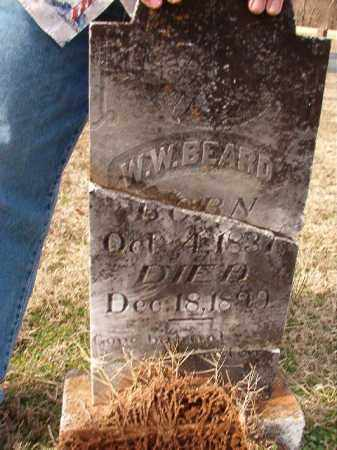 BEARD, W W - Dallas County, Arkansas | W W BEARD - Arkansas Gravestone Photos