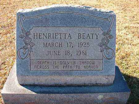 BEATY, HENRIETTA - Dallas County, Arkansas | HENRIETTA BEATY - Arkansas Gravestone Photos