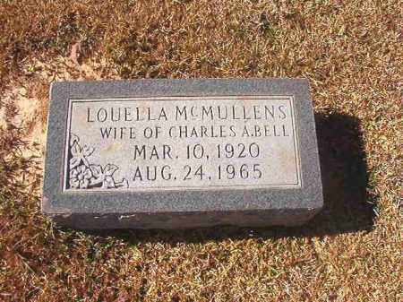 MCMULLENS BELL, LOUELLA - Dallas County, Arkansas | LOUELLA MCMULLENS BELL - Arkansas Gravestone Photos
