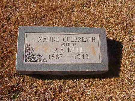 BELL, MAUDE - Dallas County, Arkansas | MAUDE BELL - Arkansas Gravestone Photos