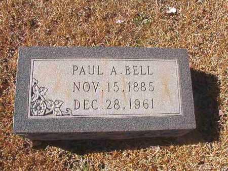 BELL, PAUL A - Dallas County, Arkansas | PAUL A BELL - Arkansas Gravestone Photos