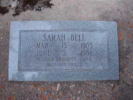 BELL, SARAH - Dallas County, Arkansas | SARAH BELL - Arkansas Gravestone Photos