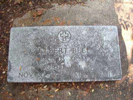 BELL (VETERAN WWI), ALBERT - Dallas County, Arkansas | ALBERT BELL (VETERAN WWI) - Arkansas Gravestone Photos