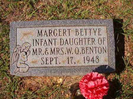 BENTON, MARGERT BETTYE - Dallas County, Arkansas | MARGERT BETTYE BENTON - Arkansas Gravestone Photos
