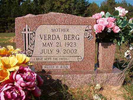BERG, VERDA - Dallas County, Arkansas | VERDA BERG - Arkansas Gravestone Photos