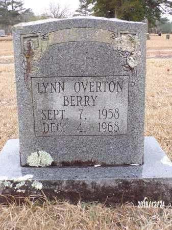 OVERTON BERRY, LYNN - Dallas County, Arkansas | LYNN OVERTON BERRY - Arkansas Gravestone Photos
