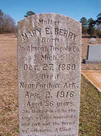 BERRY, MARY E - Dallas County, Arkansas | MARY E BERRY - Arkansas Gravestone Photos
