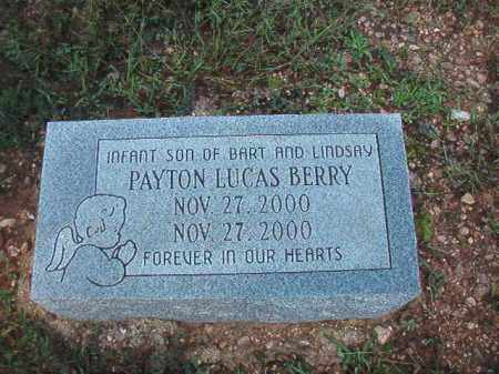 BERRY, PAYTON LUCAS - Dallas County, Arkansas | PAYTON LUCAS BERRY - Arkansas Gravestone Photos