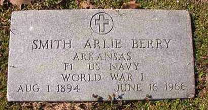 BERRY (VETERAN WWI), SMITH ARLIE - Dallas County, Arkansas | SMITH ARLIE BERRY (VETERAN WWI) - Arkansas Gravestone Photos