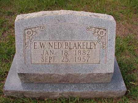 BLAKELEY, E W (NED) - Dallas County, Arkansas | E W (NED) BLAKELEY - Arkansas Gravestone Photos